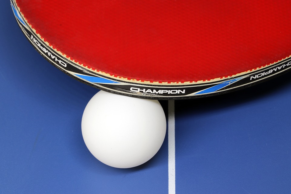 Table Tennis, Sport, Games, Ball, Play, Table, Racket