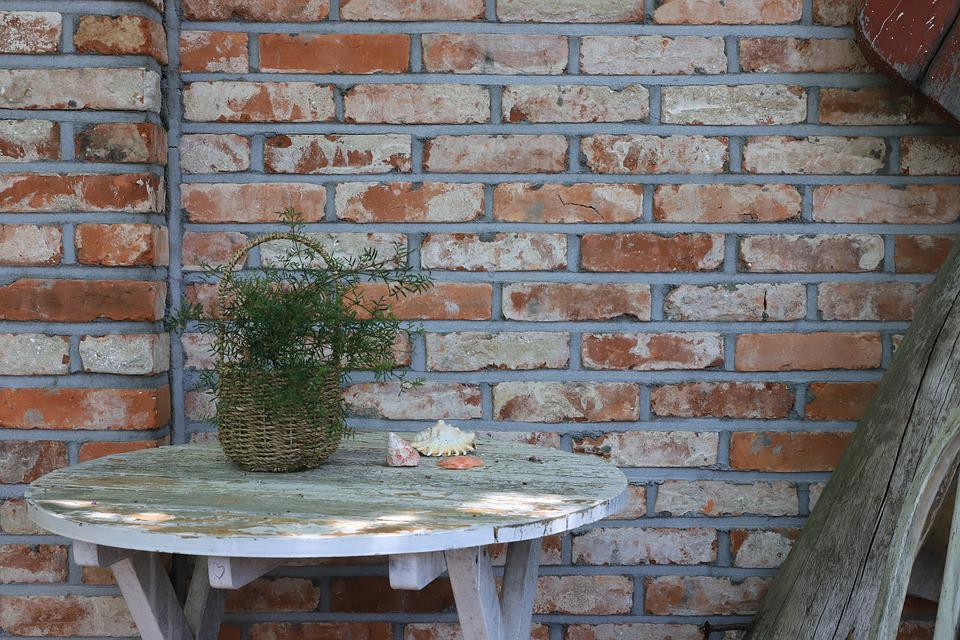 Still Life, Props, Tables, Flowers, Wall, Romantic