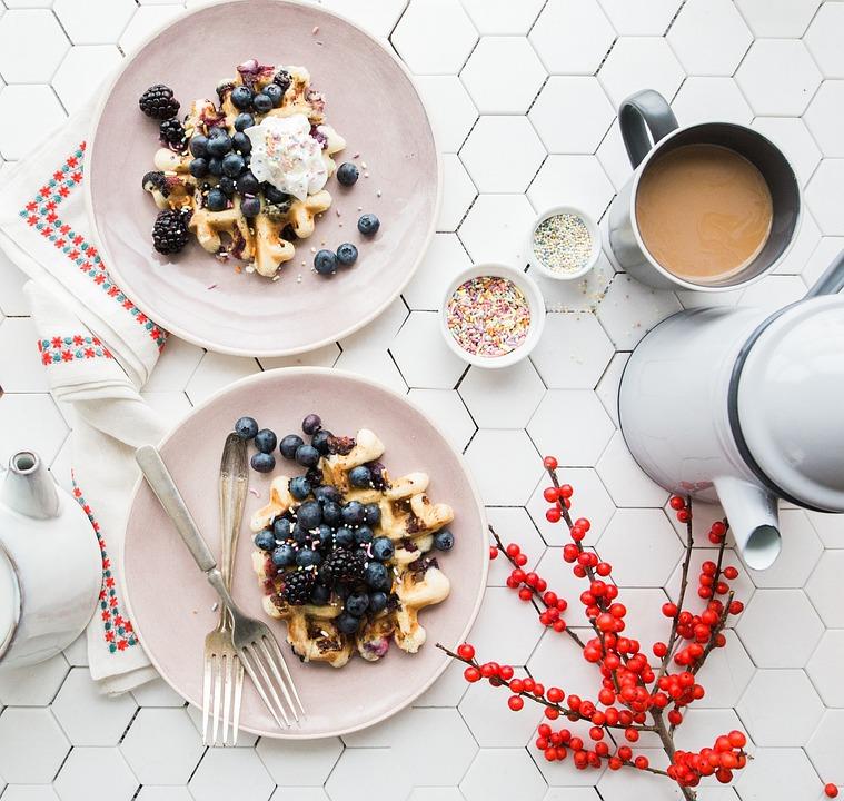 Tableware, Blueberry, Fruit, Food, Sweets, Dessert