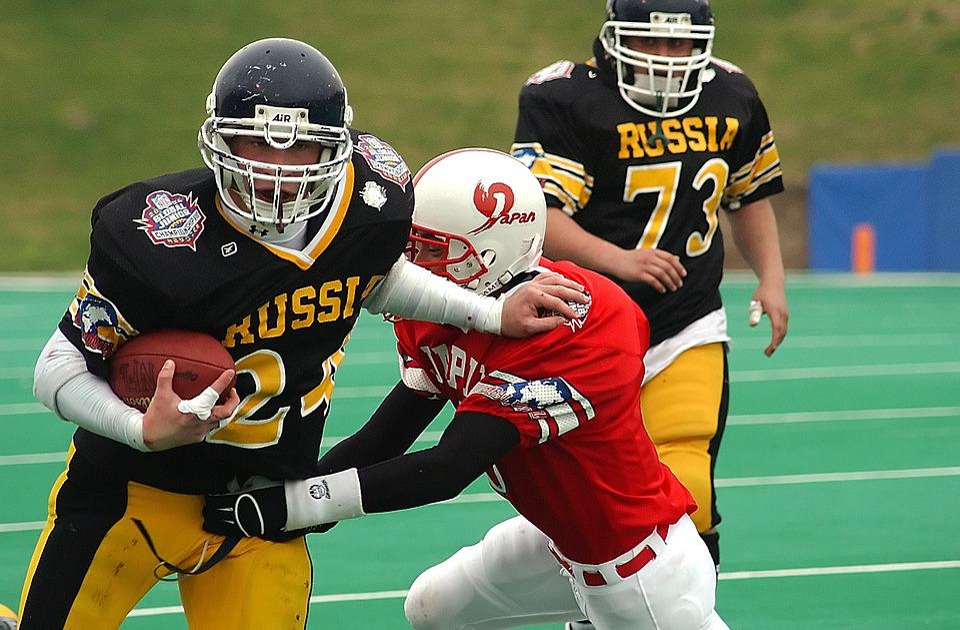 American Football, International, Running Back, Tackle