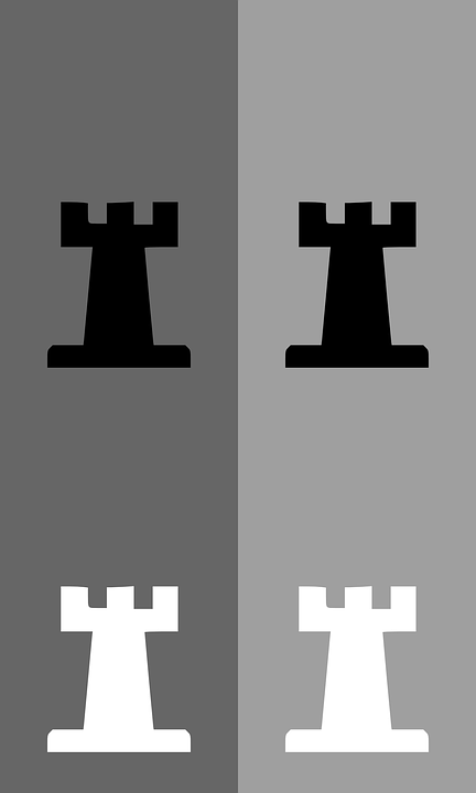 Chess, Rook, Meeple, Black, White, Game, Tactics