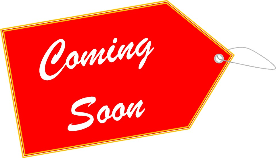 Coming Soon, Label, Tag, Soon, Coming, Sign, Symbol