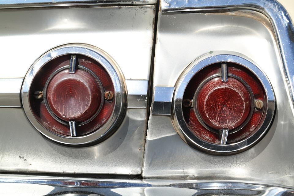 Car, Tail Light, Indicators, Chevrolet Impala, Trunk