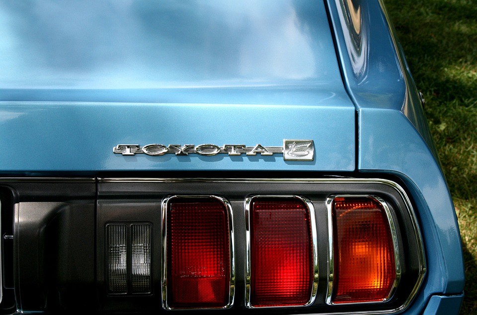 Toyota, Tail Light, Car, Vintage, Vehicle, Old, Auto