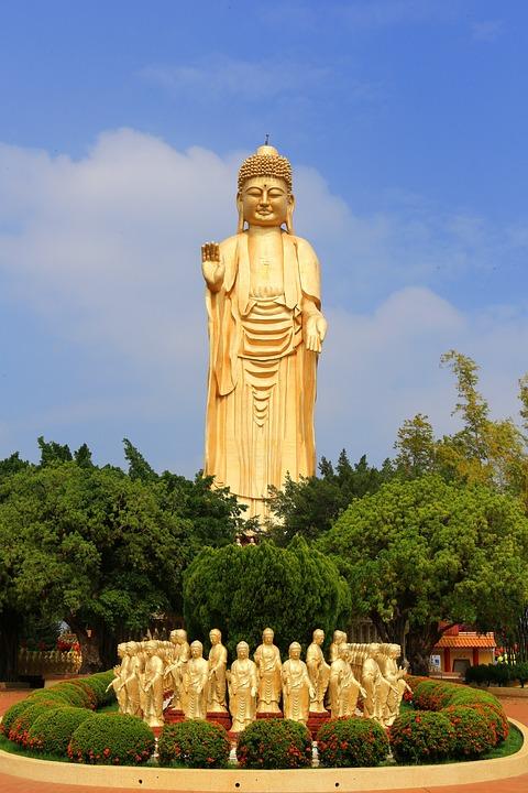Taiwan, Big Buddha, Buddha Statues