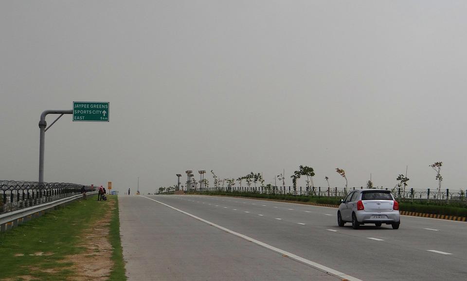Yamuna Expressway, Delhi-agra, Taj Expressway, India