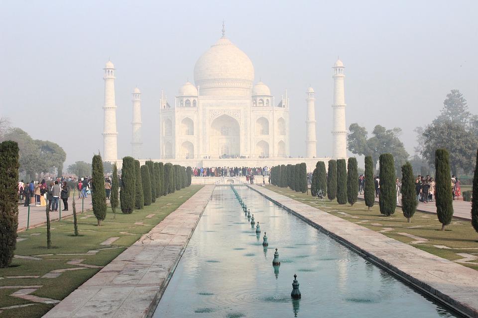 Taj, Majal, India, Academia, Danza, Oriental, Bollywood