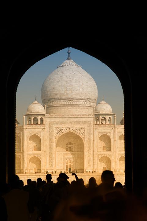 Taj Mahal, India, Travel, Mausoleum, Agra, Temple