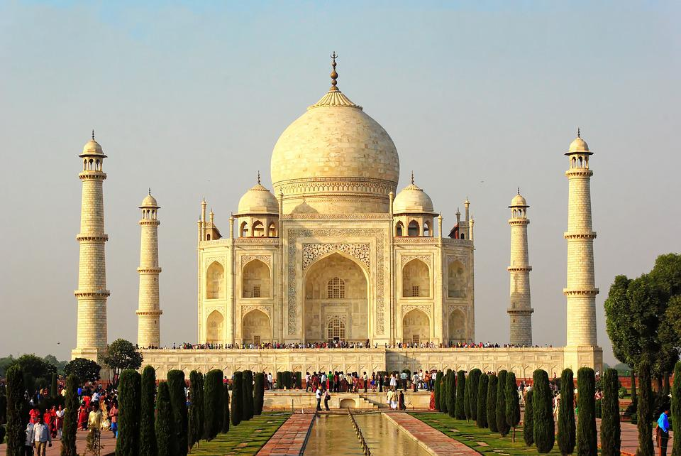 India, Agra, Taj Mahal, Tomb, Religion, Building