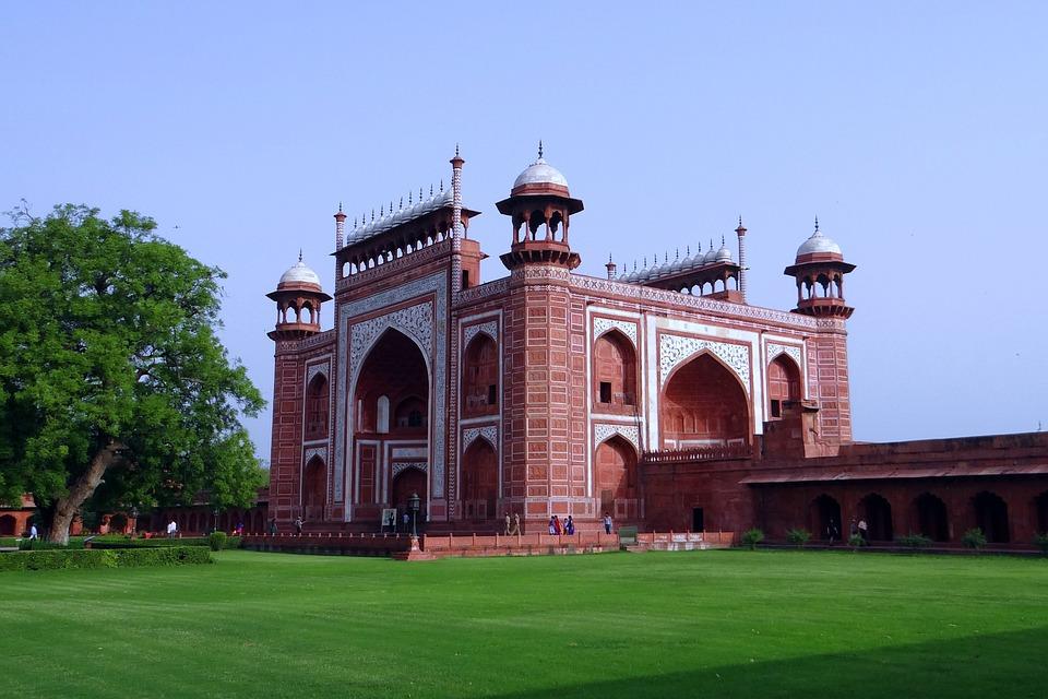The Great Gate, Darwaza-i-rauza, Taj Mahal, Agra, India