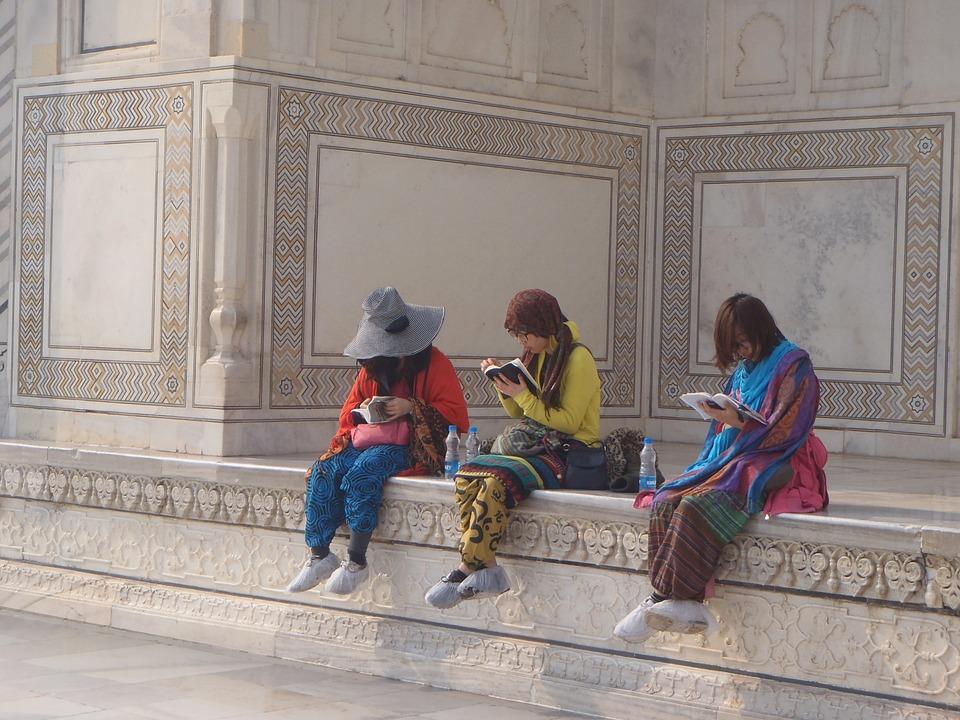 Tourist, Taj Mahal, Palace, India, Agra, Architecture