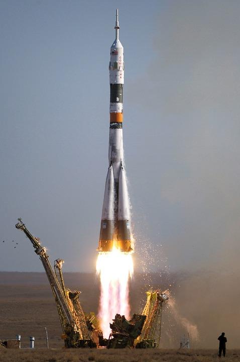 Soyuz, Rocket Launch, Rocket, Take Off, Space Travel