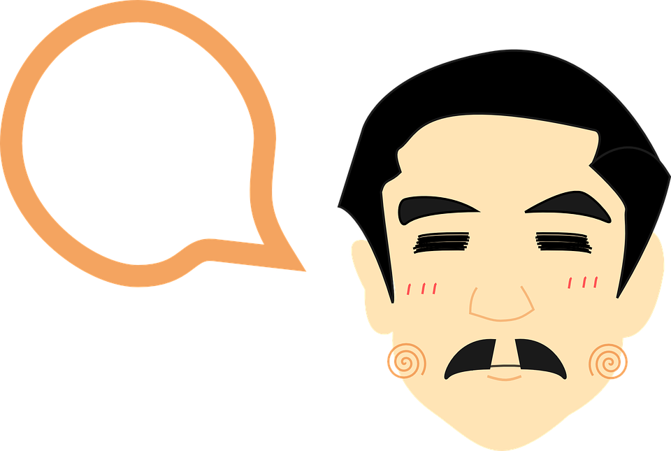 Head, Man, Male, Face, Human, Think, Talk, Moustache