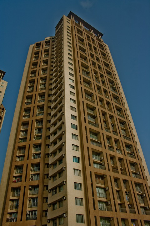 Tower, Building, Tall, High, Mumbai, India