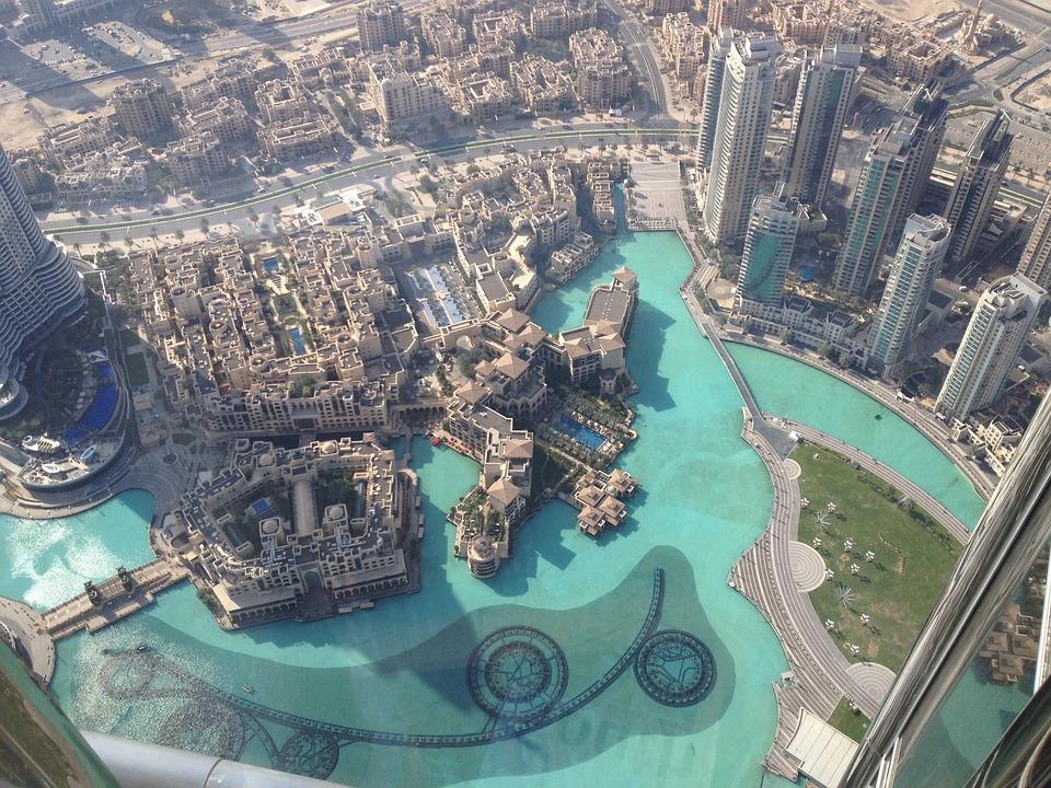 Dubai, Dubai Mall, Architecture, Landmark, Tall, High