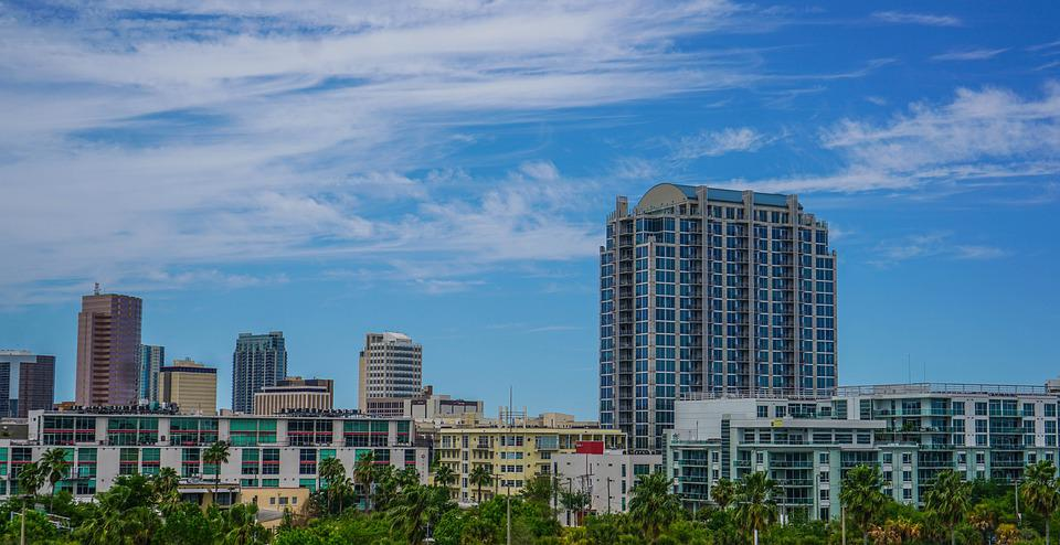 Tampa, Florida, Skyline, Downtown, Skyscrapers