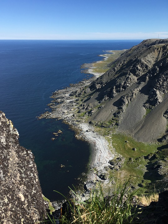 Tanahorn, Berlevåg, The Top Of The Mountain, At The Top