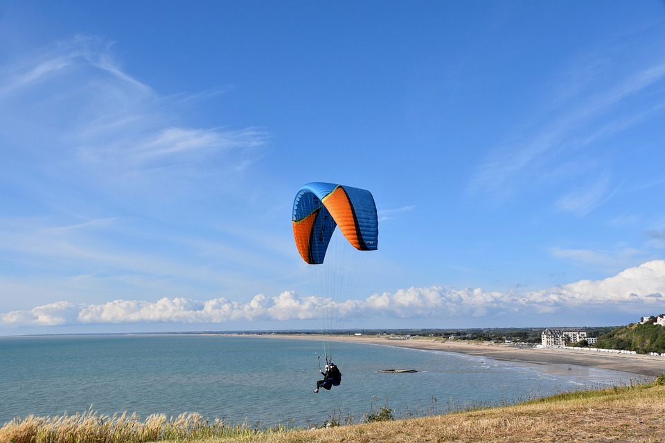 Paragliding, Paraglider Wing, Tandem Paragliding