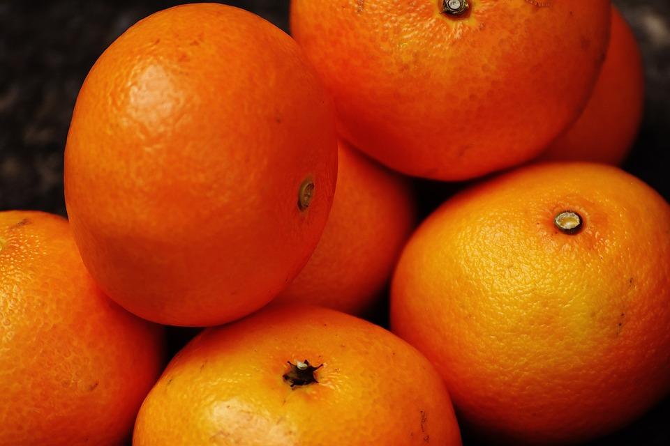 Tangerines, Fruity, Vitaminhaltig, Food, Nutrition