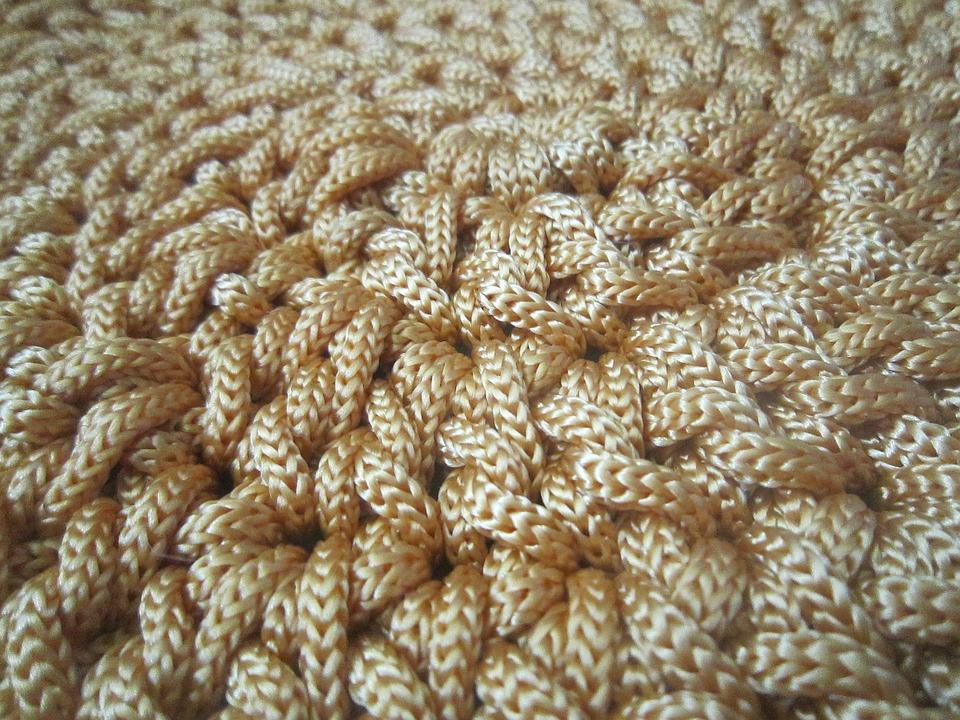 Moderno Patrón Carenado Doble Crochet Componente - Manta de Tejer ...