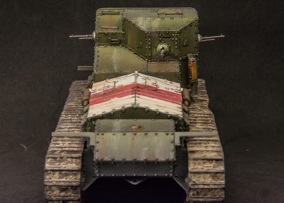 Scale Model, Tank, Ww1, Whippet, Miniature