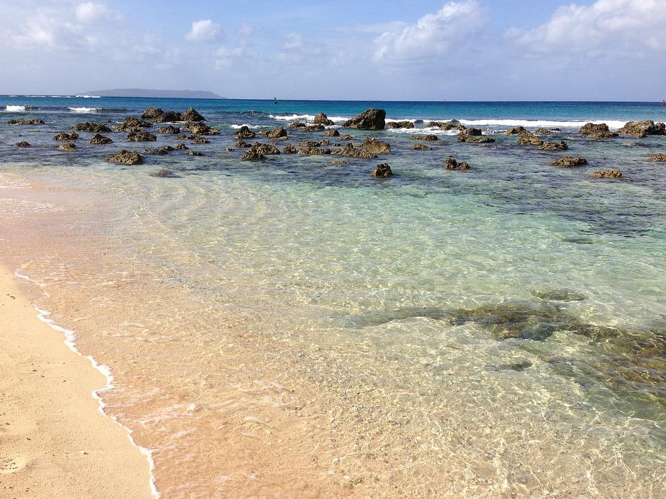 Saipan, Tinian, Red, Beach, Pacific, Cnmi, South, Tanks