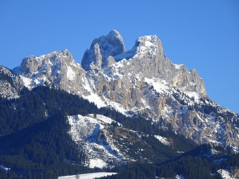 Red Flüh, Mountain, Alpine, Allgäu, Tannheim, Austria