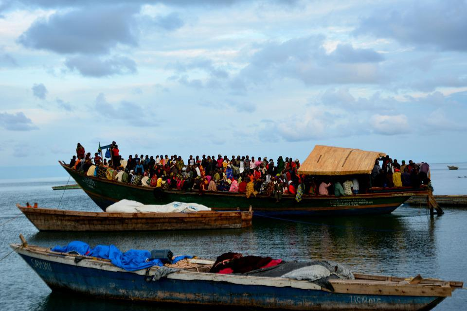 Boat, Tanzania, Fishers