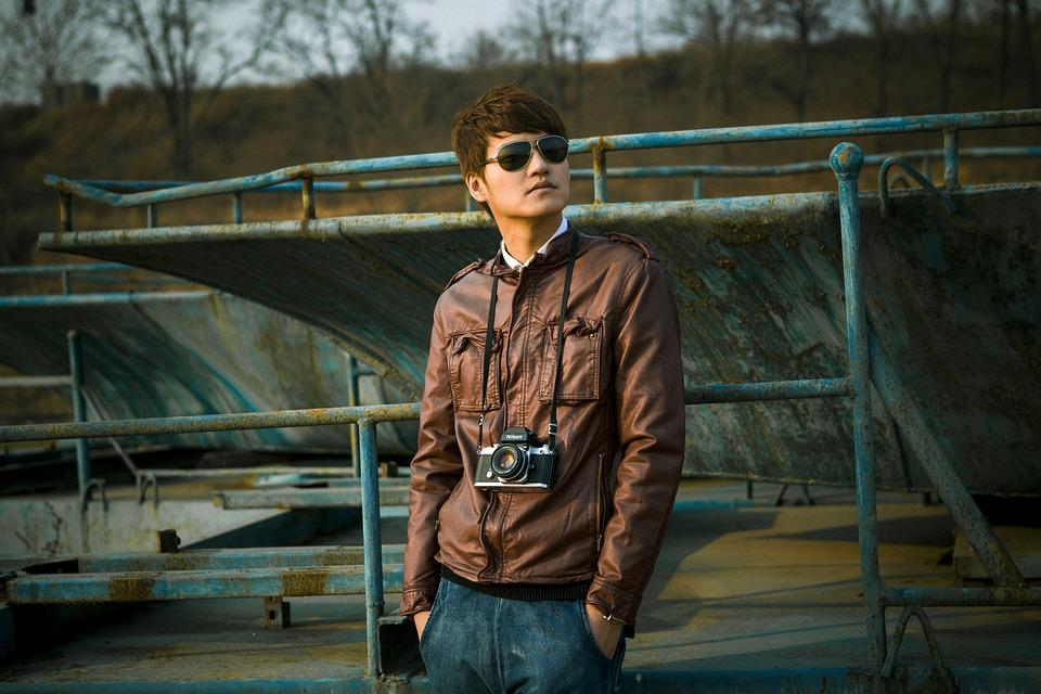 People, Man, Model, Glasses, Creative Shooting, Taobao