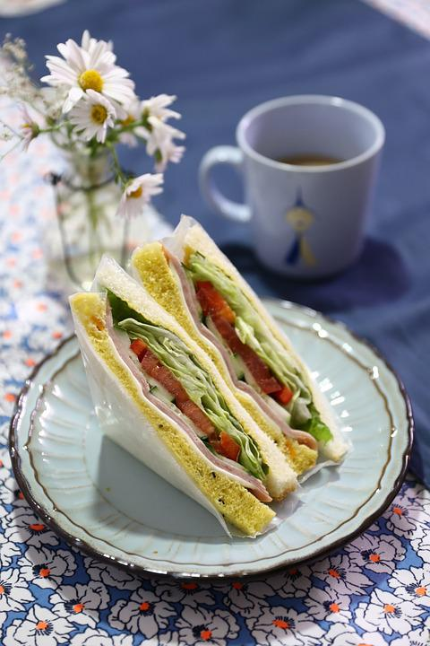 Sandwich, Delicious Food, Dining, Cafe, Tapi Rouge
