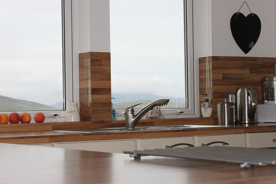Kitchen, Interior Kitchen, Taps, Work-surface
