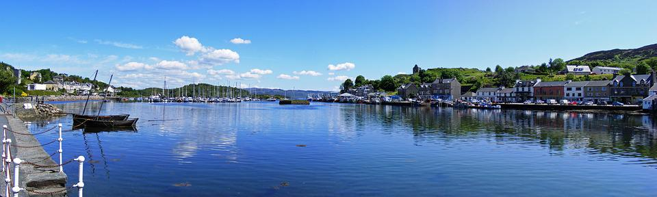 Tarbert, Scotland, Loch, Historical, Boats, Sailing
