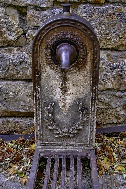 Fountain, Former, Saint-enimie, Tarn, France, Lozère