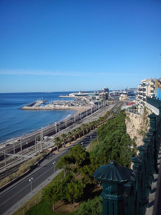 Port, Tarragona, Sea