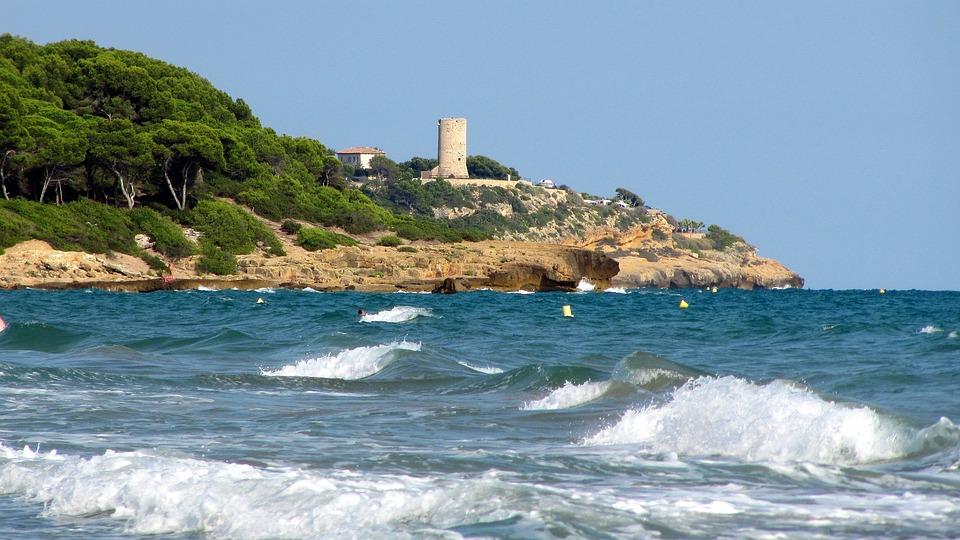 Spain, Tarragona, Sea
