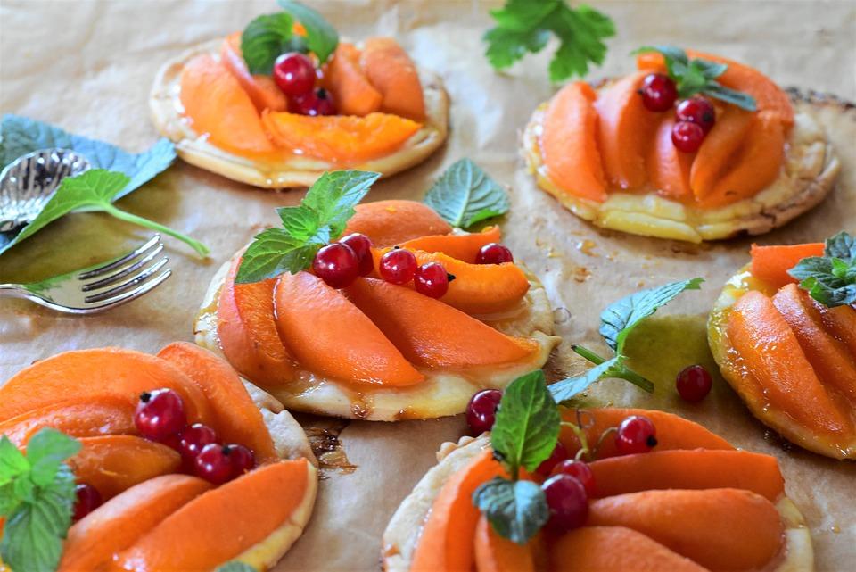 Apricots, Cake, Tartelette, Sweet, Dessert, Coffee Time
