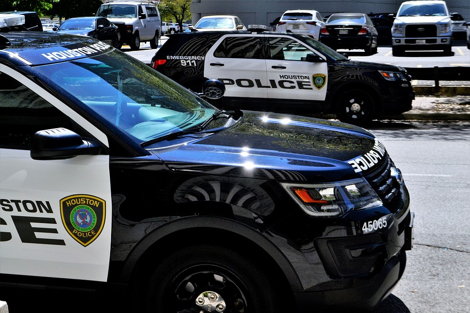 Police Car, Squad Cars, Task Force, Pct, Houston, Texas