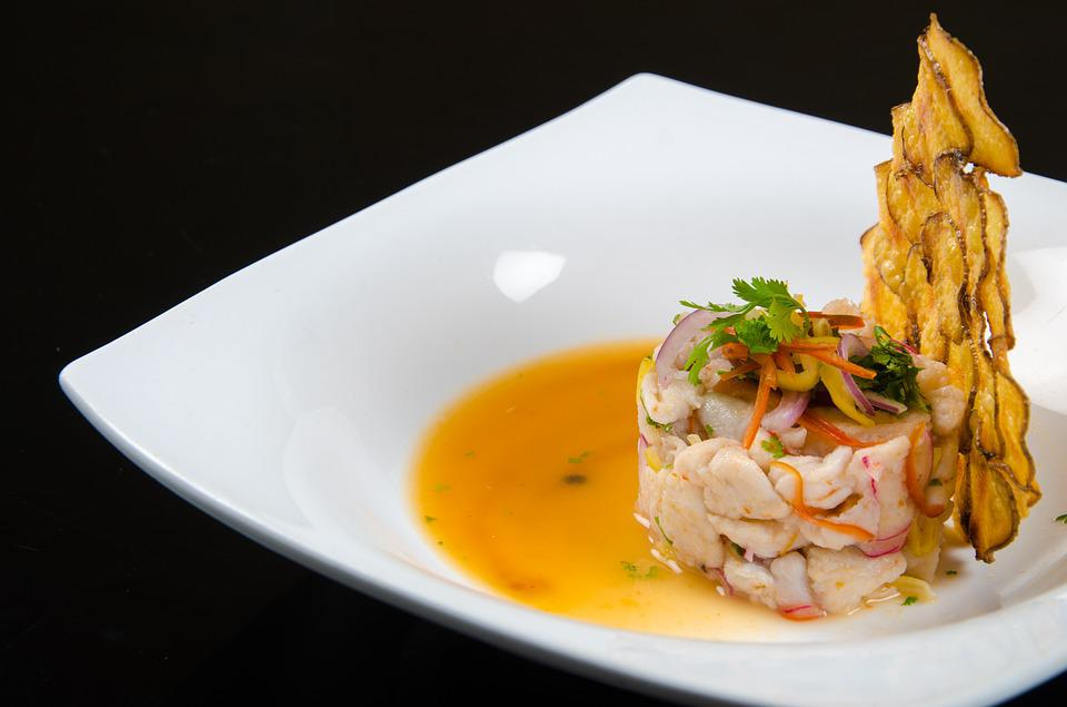 Seafood In Sour Sauce, Seafood, Tasting, Shrimp