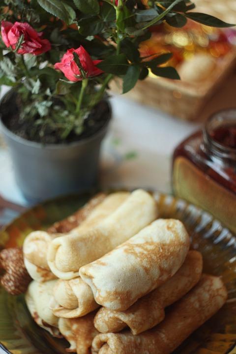 Pancakes, Hash Browns, Tasty, Baking, Food