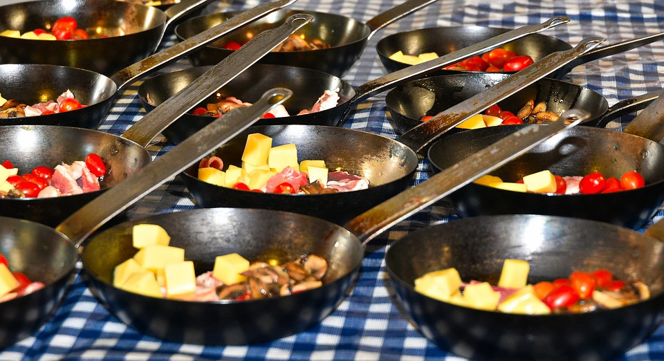 Breakfast, Hot Breakfast, Tasty Meal, Breakfast Pan