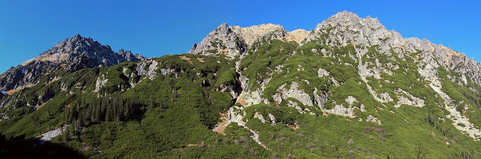 Tatry, Poland, Hiking Trails, Landscape
