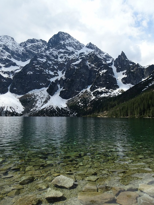 Mountains, Tatry, The High Tatras, Morskie Oko, Nature
