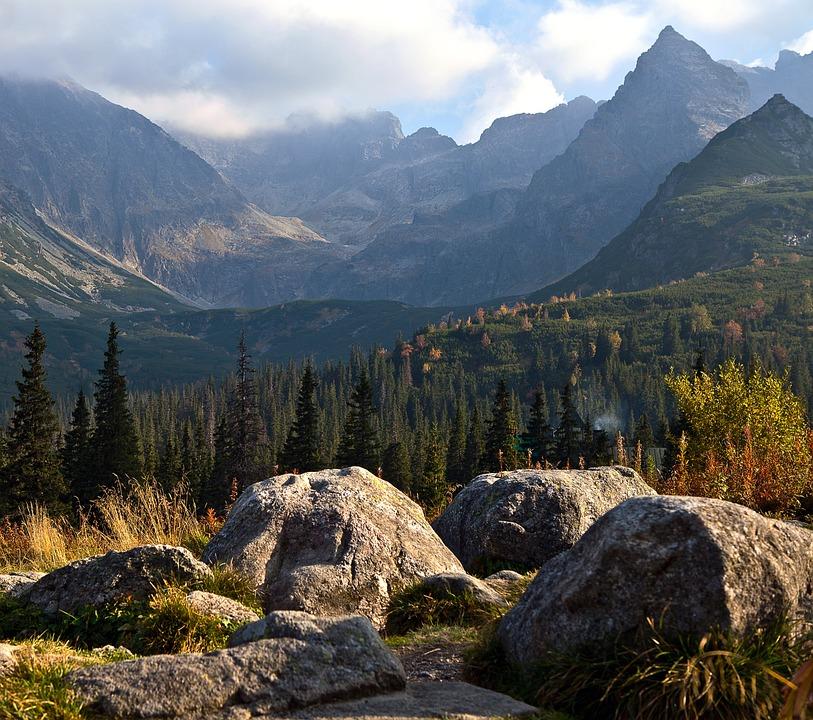 Polish Tatras, Tatry, Poland, The High Tatras