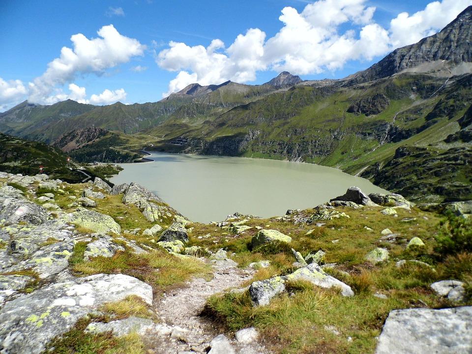 Tauernmoossee, Dam, Swinging, Uttendorf, High Tauern