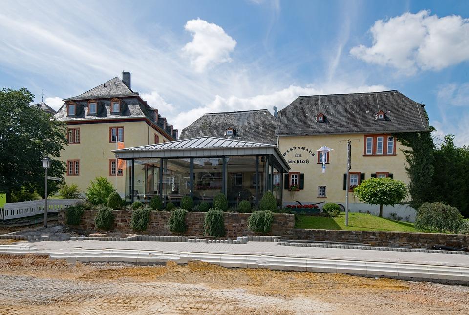 Wehener Castle, Blow, Taunusstein, Castle, Taunus