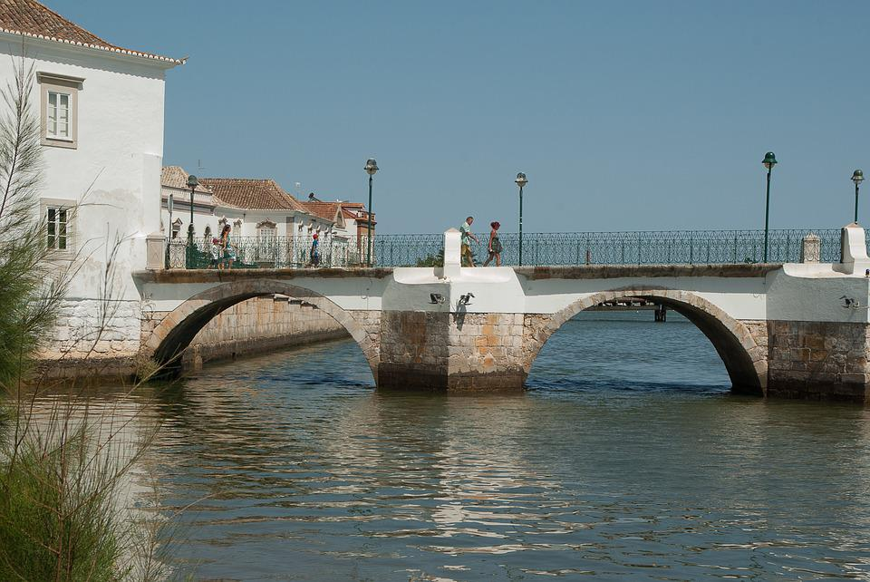 Portugal, Tavira, Bridge, Port