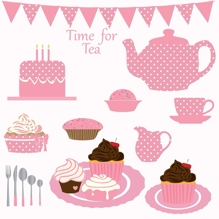 Free Photo Tea Cupcake Cake Birthday Party Birthday Cake Max Pixel