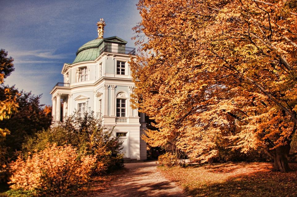 Schlosspark Charlottenburg, Tea House, Castle Park