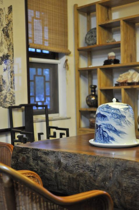 Chinese Style, Tea House, Indoor
