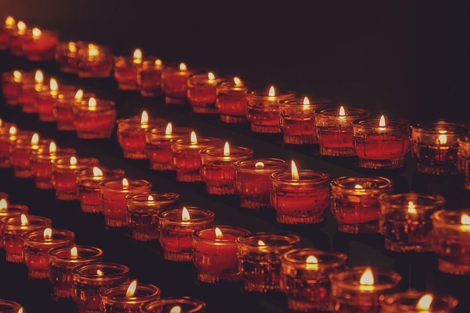 Tea Lights, Candles, Flame, Candlelight, Lighting
